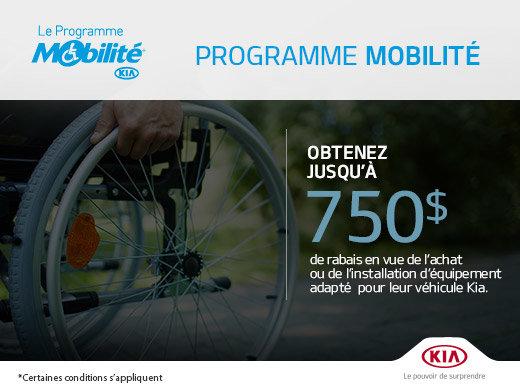 Programme Mobilité
