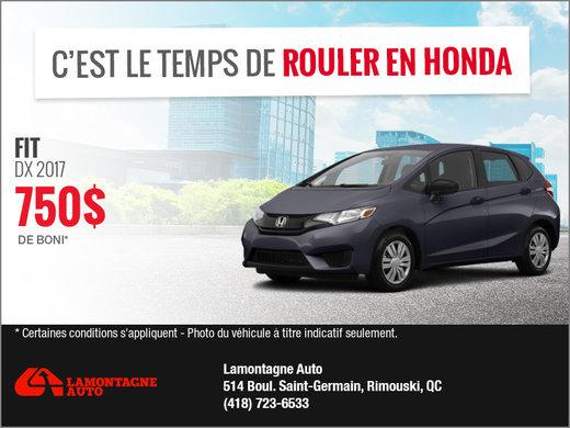 La Honda Fit 2017!