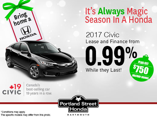 Save on the 2017 Civic!