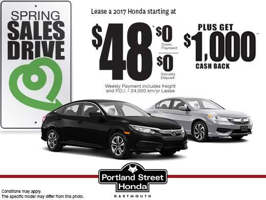 Honda's Spring Sales Drive Event!