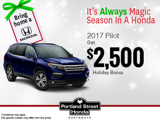 Save on the 2017 Pilot!