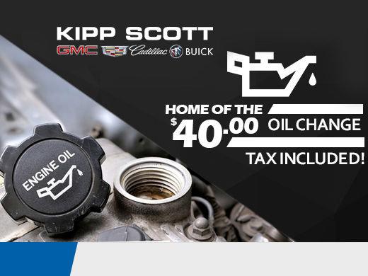 $40 Oil Change!