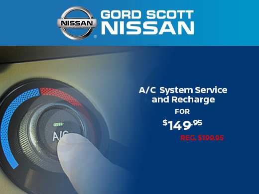 A/C System Service & Recharge for $149.95
