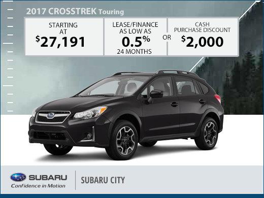 Save Big on the 2017 Subaru Crosstrek Touring!
