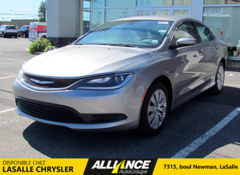 2016 Chrysler 200 LX | A/C