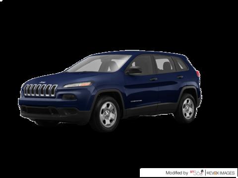 2016 Jeep Cherokee LIMITÉE V6 4x4 CUIR CAMERA NAV REMORQUE