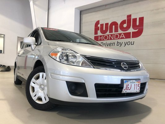 2012 Nissan Versa 1.8 S with A/C and ONLY 48,000KM!!!