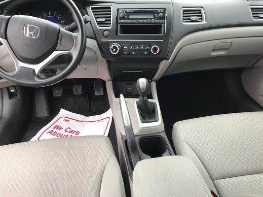 Honda Civic Sedan DX 2015 BAS KM (10/13)