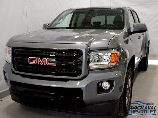 New 2019 GMC Canyon Denali, Crew Cab Satin Steel Metallic - $47230.0 | 440 Chevrolet #CA-19122