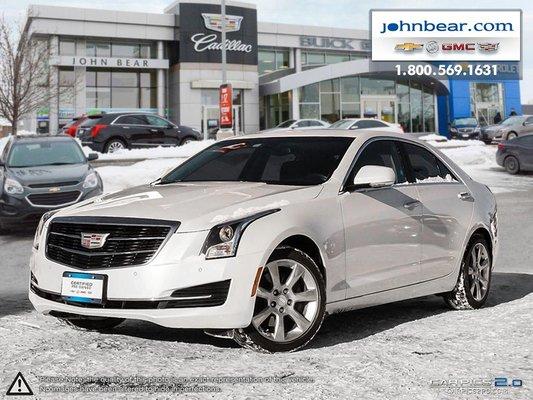 Used 2015 Cadillac Ats 2 0l Turbo Luxury At John Bear Hamilton 24 900