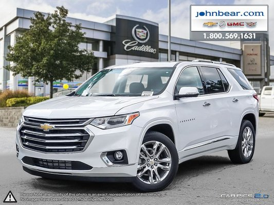 New 2018 Chevrolet Traverse High Country At John Bear Hamilton 3893 18