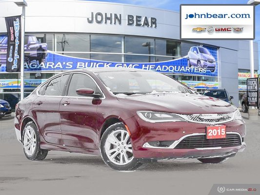 2015 Chrysler 200 Limited JUST TRADED, WONT LAST LONG