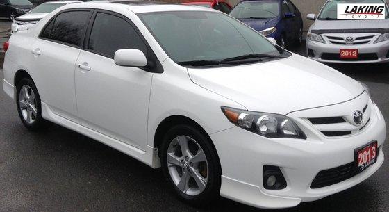 2013 Toyota Corolla SPORT KEYLESS START SUN/MOON ROOF