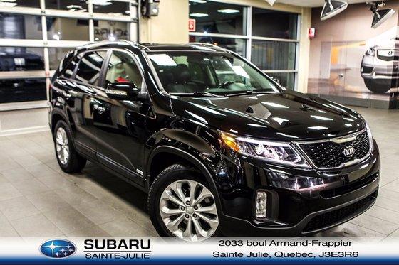 Kia Ste Julie >> Used 2014 Kia Sorento Ex Awd At Subaru Sainte Julie 17 556