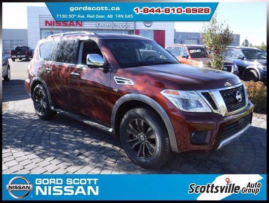 2017 Nissan Armada Platinum 4WD w/Captain's Chairs