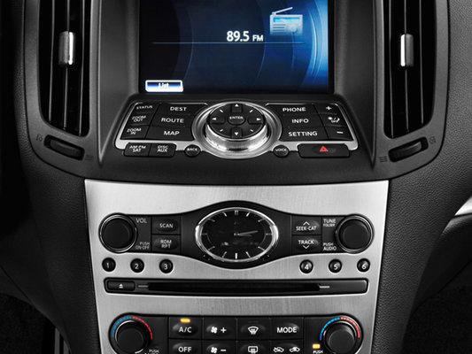 Infiniti <span>G Coupé IPL Coupé G IPL; boîte automatique, intérieur rouge 2012</span>