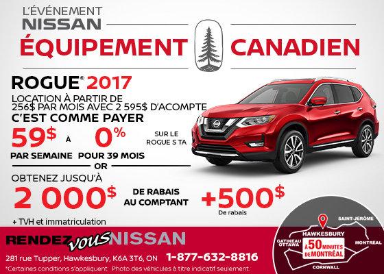 Obtenezletout nouveau Nissan Rogue 2017!