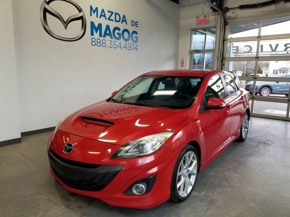 Mazda Mazda3 2010 Mazdaspeed3 TURBO 95 000KM GROUPE TECH. GPS CUIR