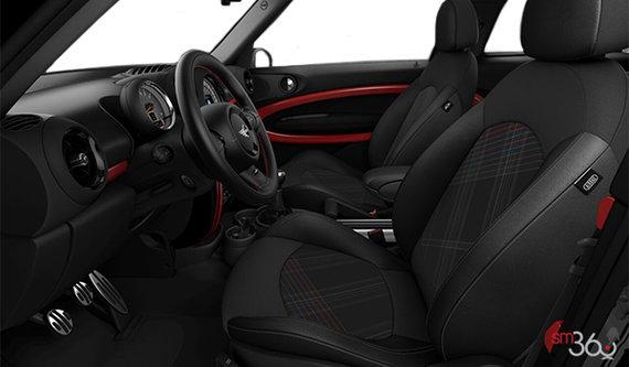 Hot Cross Carbon Black Cloth / Carbon Black Leather