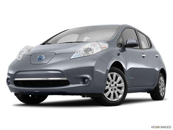 Nissan leaf - pearl white