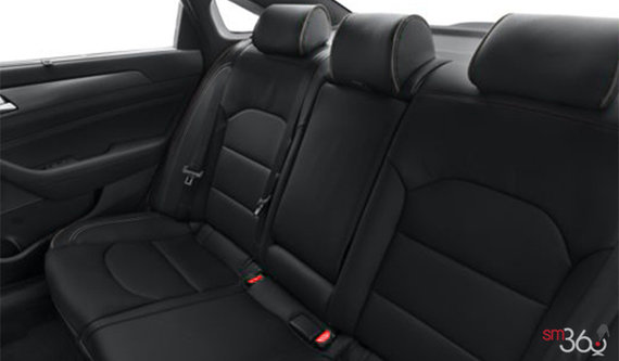 Black Leather w/Grey Piping