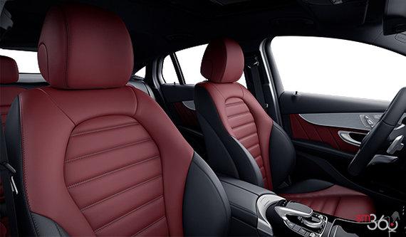 Cranberry/Black Sport Leather