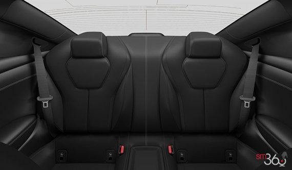 Graphite Semi-Aniline Leather with Carbon Fiber Trim