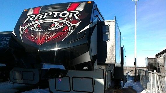 2016 RAPTOR 425 TS