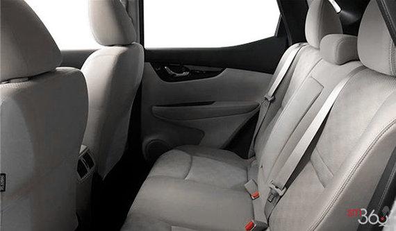 Gris clair avec sièges en tissu