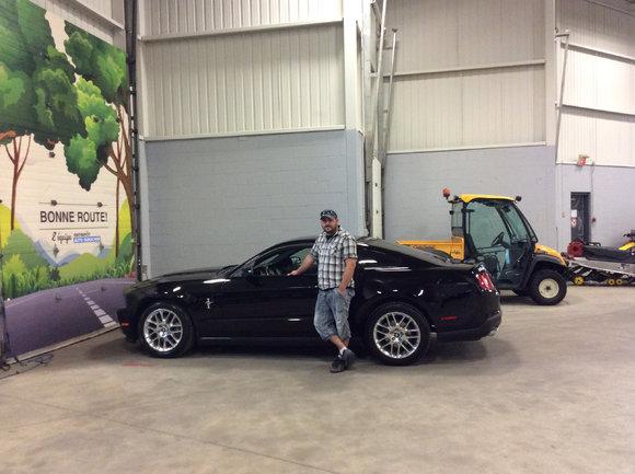 Très bon service pour ma Mustang!
