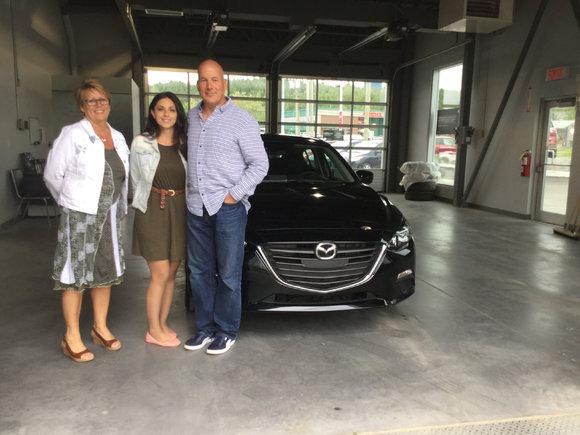Mazda 3 noir 2016