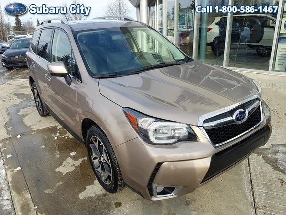 2014 Subaru Forester LIMITED,XT TURBO,AWD,LEATHER,SUNROOF,,250 HP,FULLY LOADED,LOCAL SUV,CARPROOF IS CLEAN!!!!