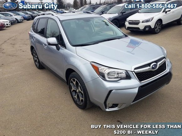 2015 Subaru Forester 2.0XT Limited,TURBO,NAVIGATION,WINTERS AND SUMMERS,LEATHER,SUNROOF,AWD,FULLY LOADED,LOCAL TRADE!!!!