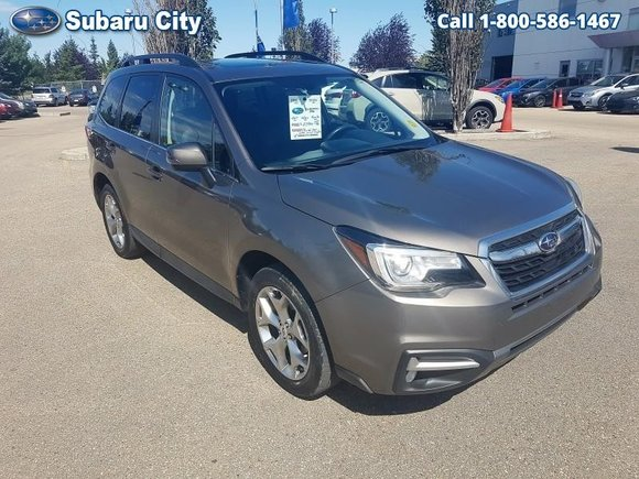 2017 Subaru Forester 2.5i Limited,SUNROOF,LEATHER,NAVIGATION,AIR,TILT,CRUISE,PW,PL,LOCAL TRADE,ONE OWNER,CLEAN CARPROOF!!!!