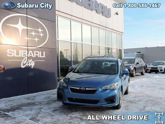 New 2019 Subaru Impreza 4 Dr Convienence MT For Sale In Edmonton