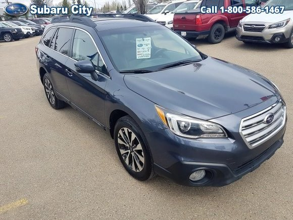 2015 Subaru Outback LIMITED,3.6R,LEATHER,SUNROOF,NAVIGATION,AIR,TILT,CRUISE,PW,PL,LOCAL TRADE,CLEAN CARPROOF!!!!