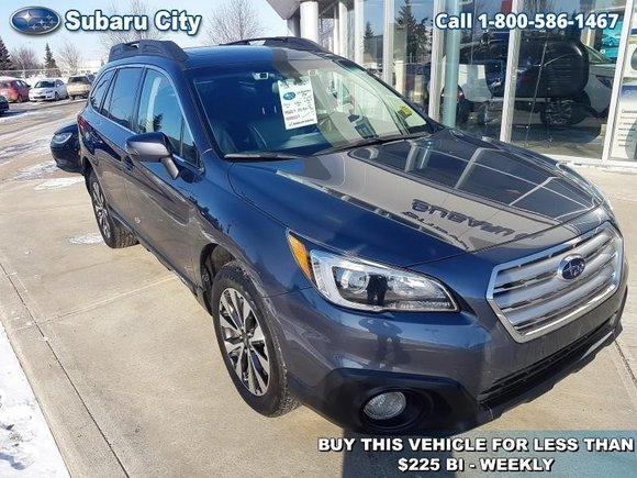 2016 Subaru Outback 3.6R Limited w/Eyesight,LEATHER,SUNROOF,NAVIGATION,BLUETOOTH,BACK UP CAMERA,MUCH MORE!!!