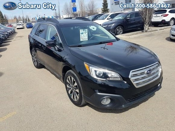 2016 Subaru Outback 3.6R Limited w/Eyesight,LEATHER,SUNROOF,NAVIGATION,BLUETOOTH,BACK UP CAMERA,ONE OWNER,LOCAL TRADE,CLEAN CARPROOF!!!!