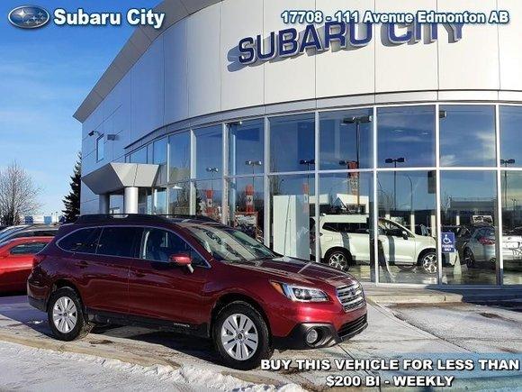 2017 Subaru Outback 2.5i Touring CVT