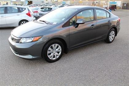 2012 Honda Civic LX AT *AC* ABS *LIFETIME ENGINE WARRANTY*