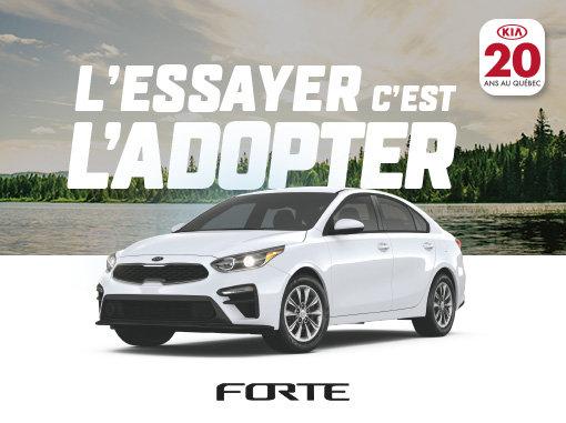 Kia Forte neuf en promotion à Montréal