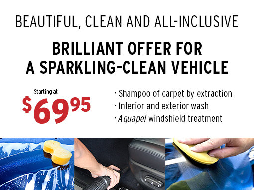 Brilliant Offer for a Sparkling-Clean Vehicle