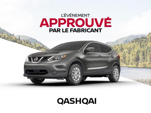 Nissan Qashqai neuf en promotion à Montréal