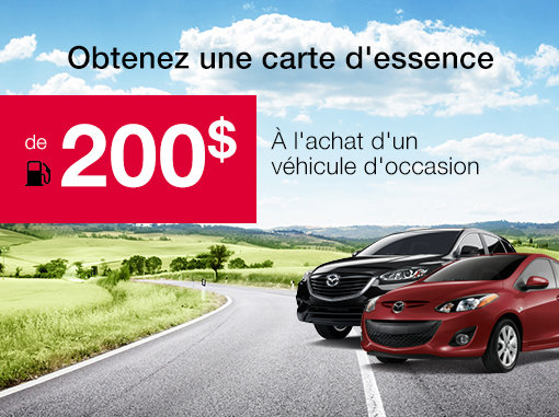 Promotion véhicules d'occasion