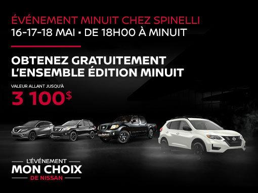 L'Événement Minuit chez Spinelli Nissan
