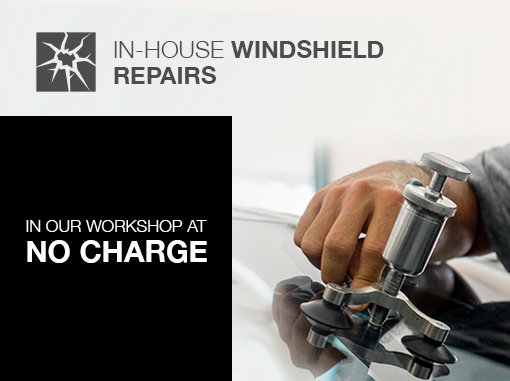 Have your windshield repaired by experts