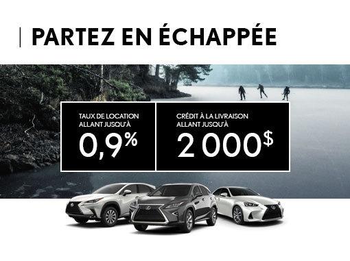 Lexus - Partez en Échappée