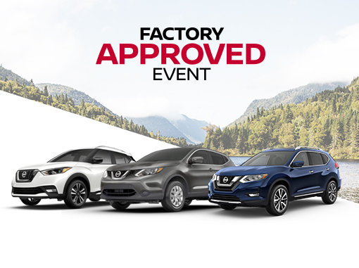 Nissan Factory Approved Sales Event