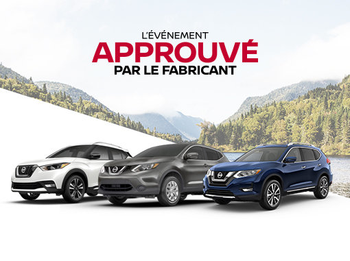 L'Événement Approuvé par le fabriquant de Nissan