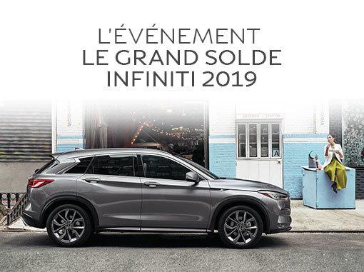 L'Événement Le Grand Solde Infiniti 2019